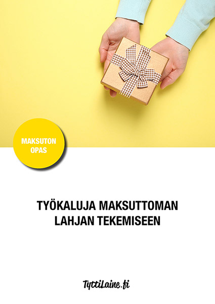 Tyokaluja_maksuttoman_lahjan_tekemiseen